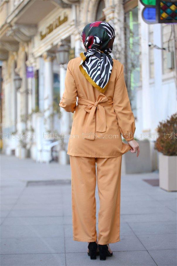 Tunic and Pants Mustard - 1366
