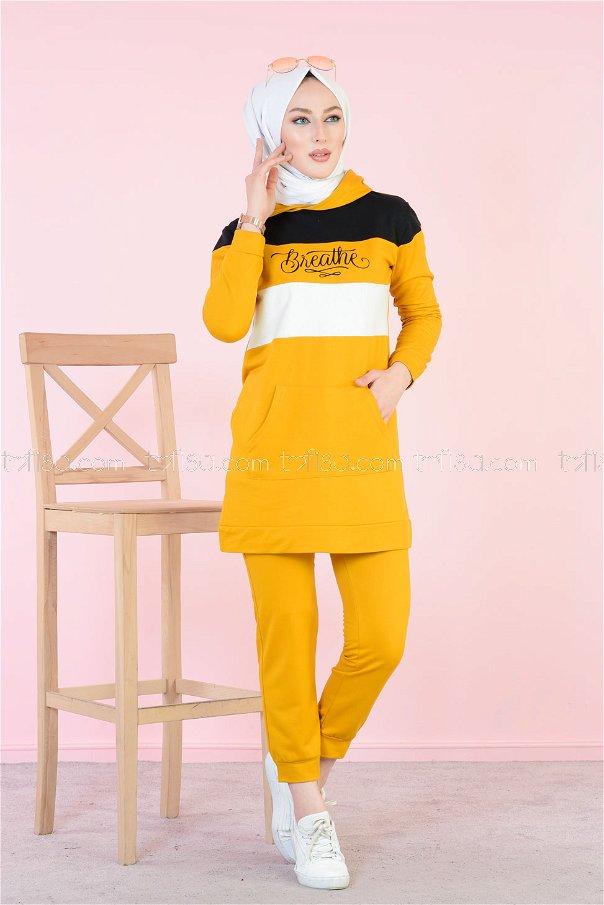 Tunic and Pants Mustard - 2813
