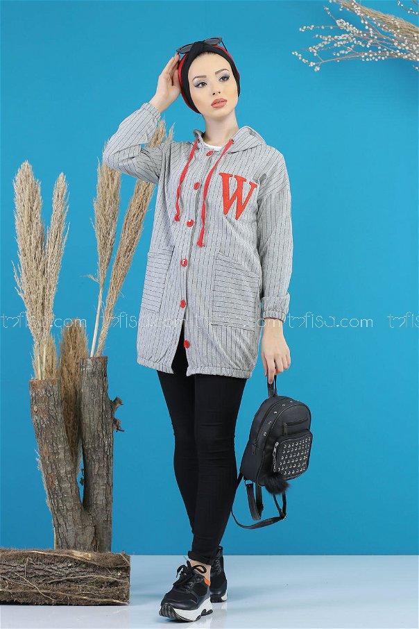 Tunic button gray - 4103