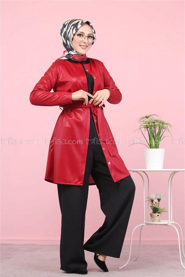 Tunic Claret Red - 1364