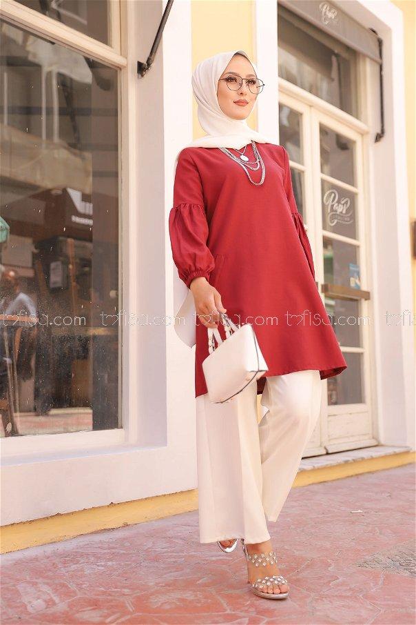 Tunic Claret Red - 3026
