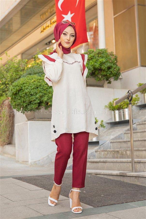 Tunic Claret Red - 3076