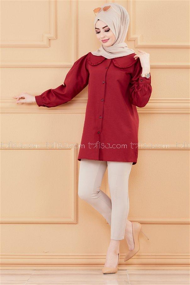 Tunic claret red - 3507