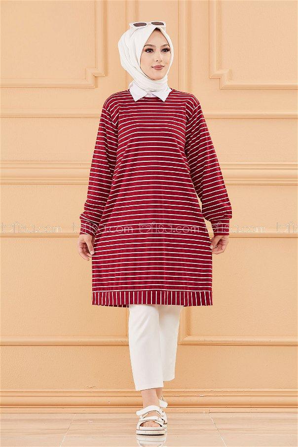 Tunic claret red - 3722