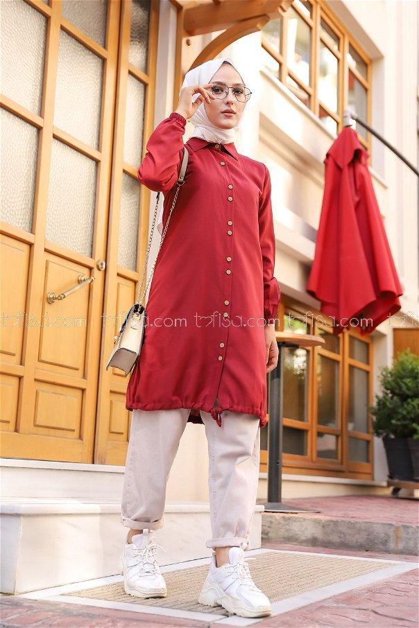 Tunic Claret Red - 8359