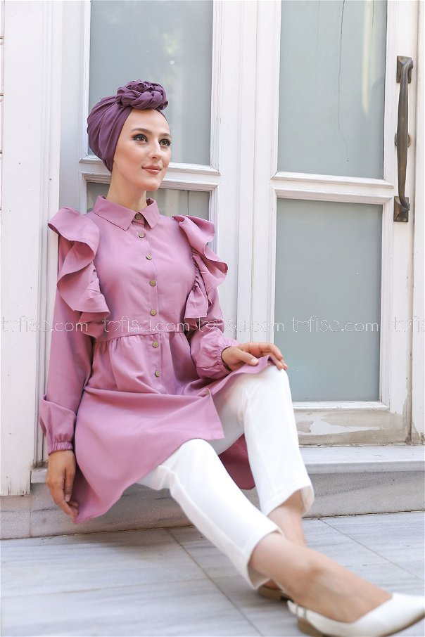 Tunic Frilly Rose - 3126