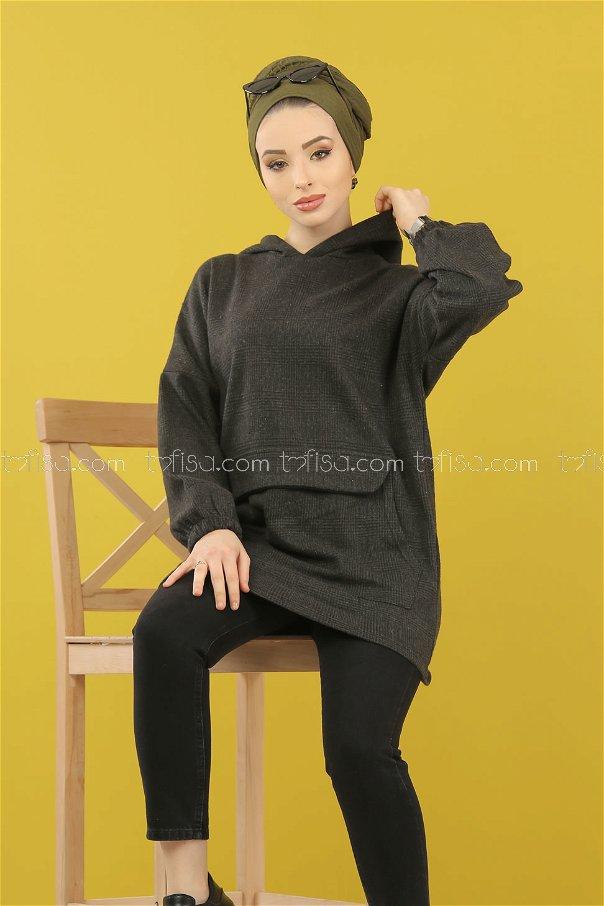 Tunic Hooded khaki - 5230