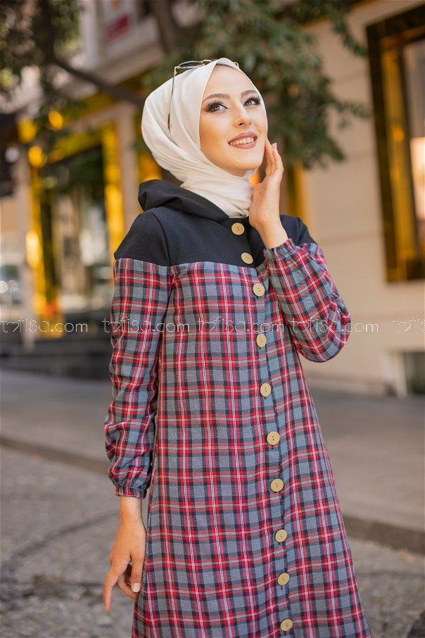 Tunic Hooded Navy Blue - 3264