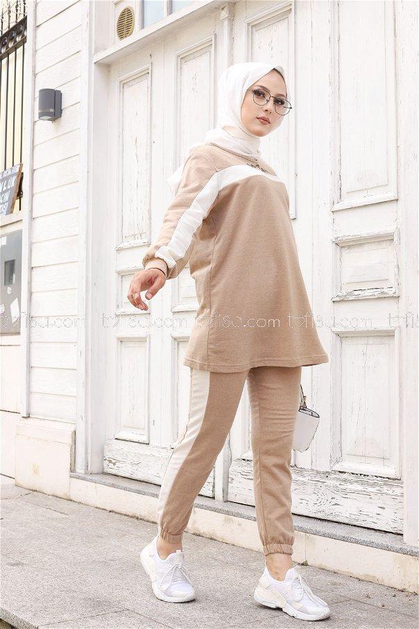 Tunic Pant Beige - 8412