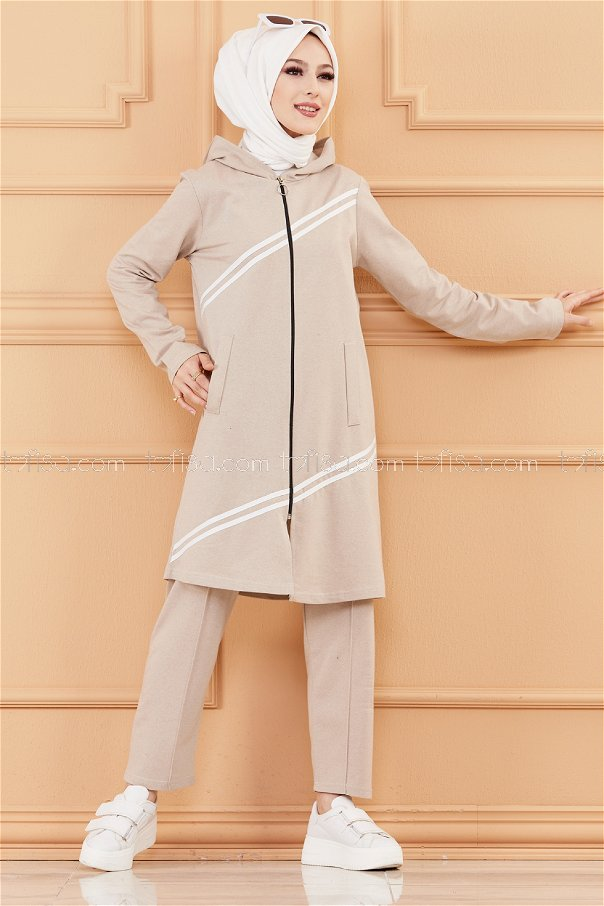 Tunic Pant Biscuit - 4117