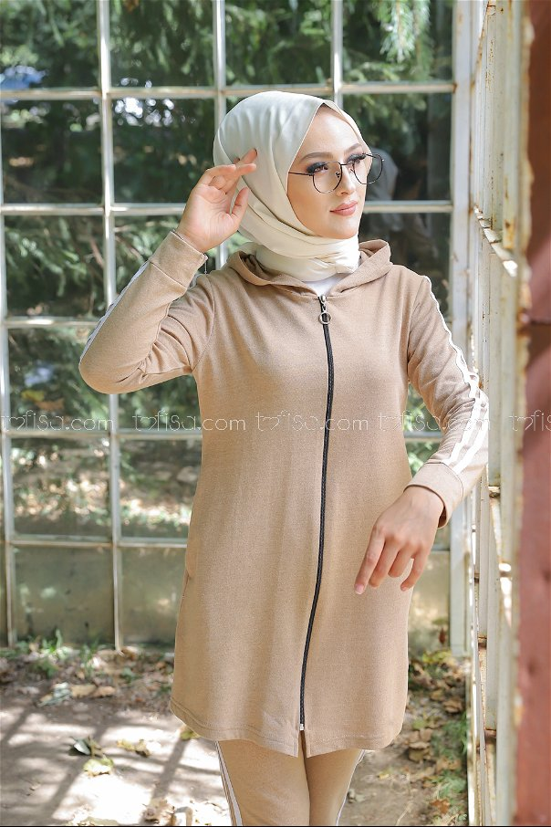 Tunic Pant Biscuit - 4126