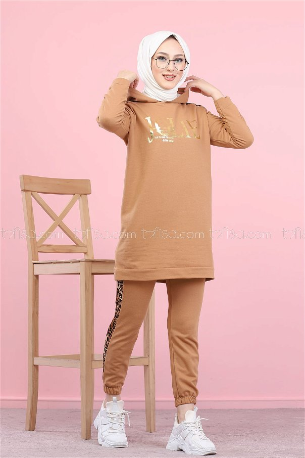 Tunic Pant Biscuit - 8328