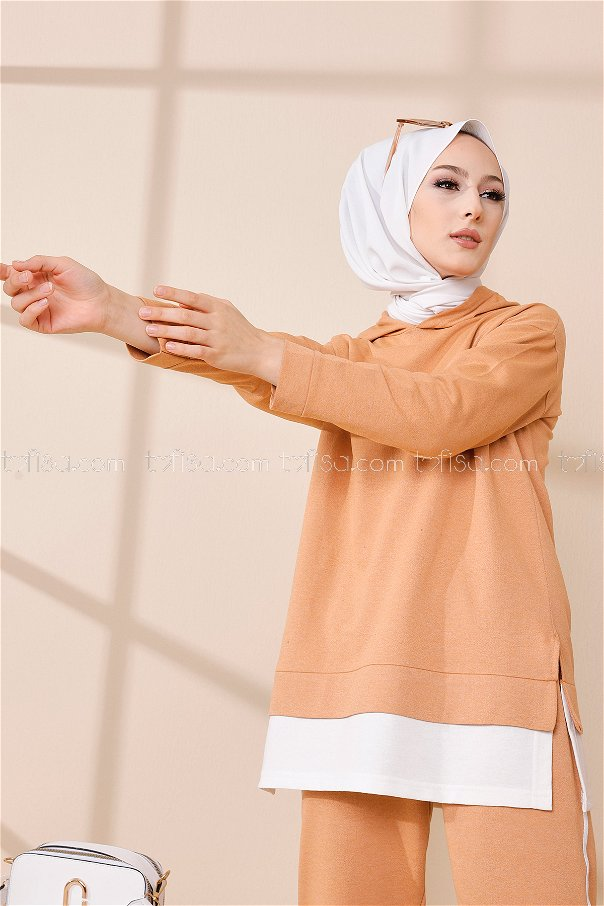 Tunic Pant Biscuit - 8330
