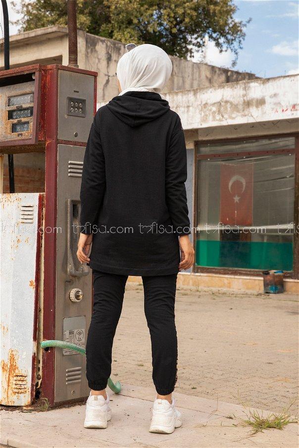 Tunic Pant Black - 8328