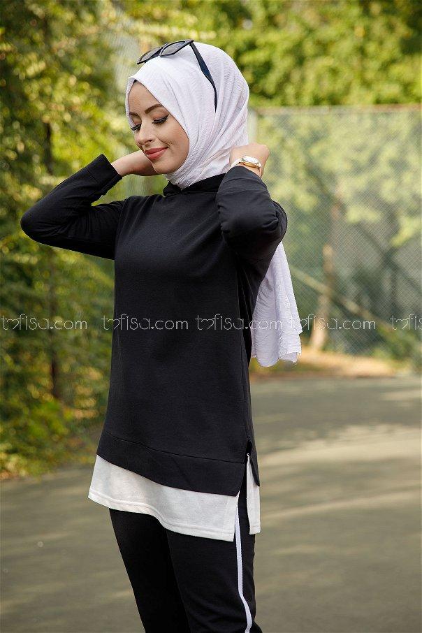 Tunic Pant Black - 8330