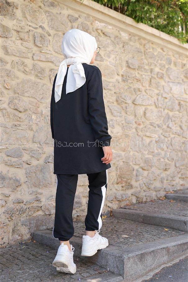 Tunic Pant Black - 8412