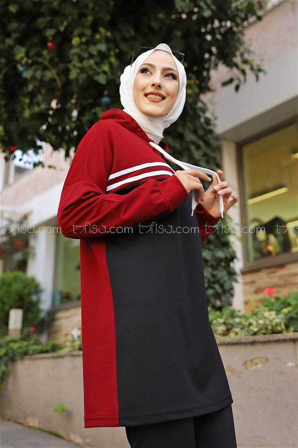 Tunic Pant Claret Red - 3302