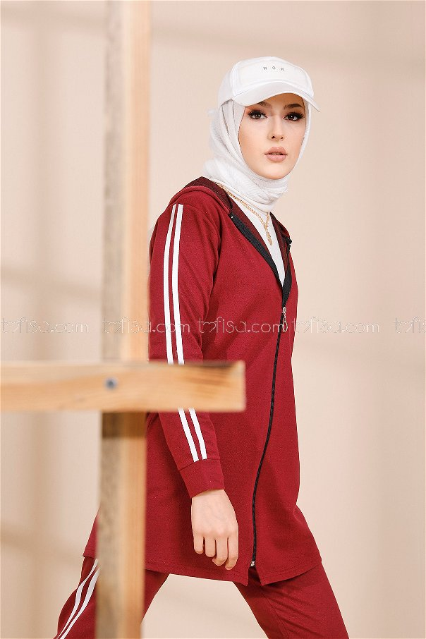 Tunic Pant Claret Red - 4126