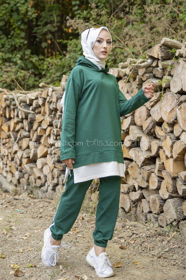 Tunic Pant Dark Green - 8330