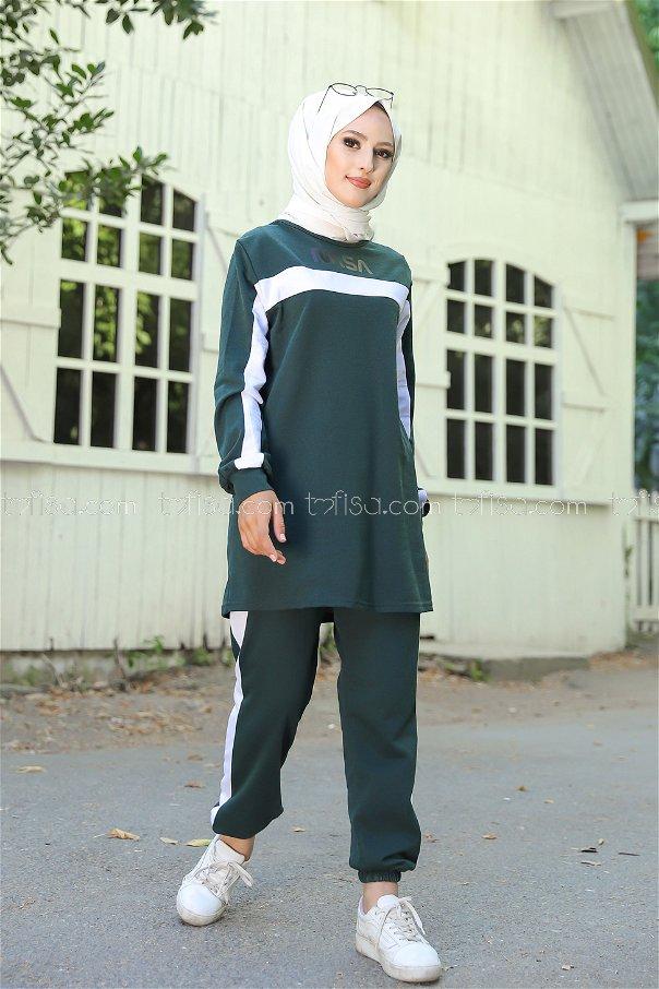 Tunic Pant Dark Green - 8412