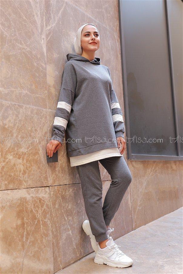 Tunic Pant Dark Grey - 3024
