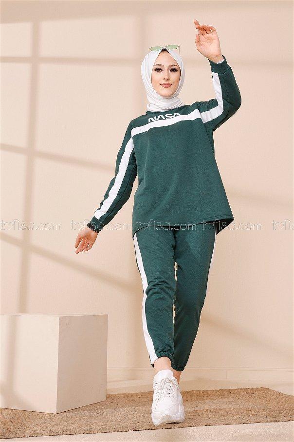 Tunic Pant Emerald - 8412