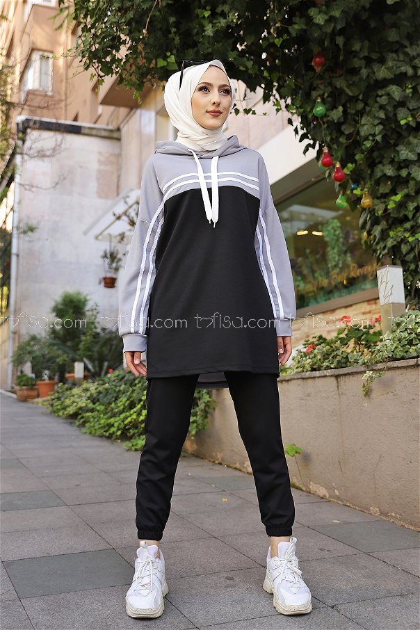 Tunic Pant Grey - 3302