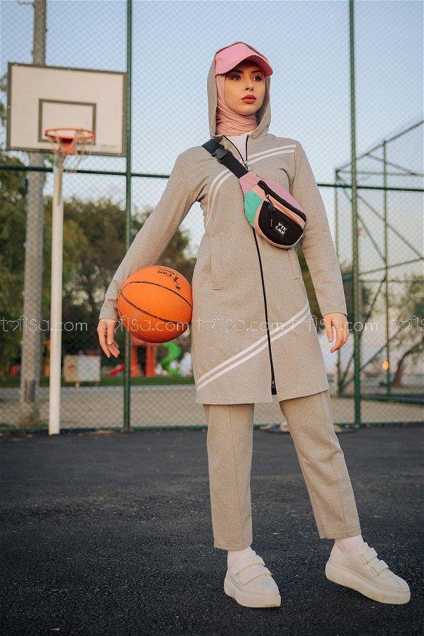 Tunic Pant Grey - 4117