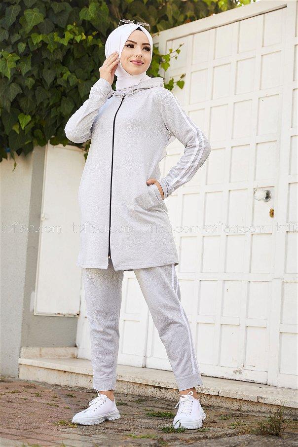 Tunic Pant Grey - 4126