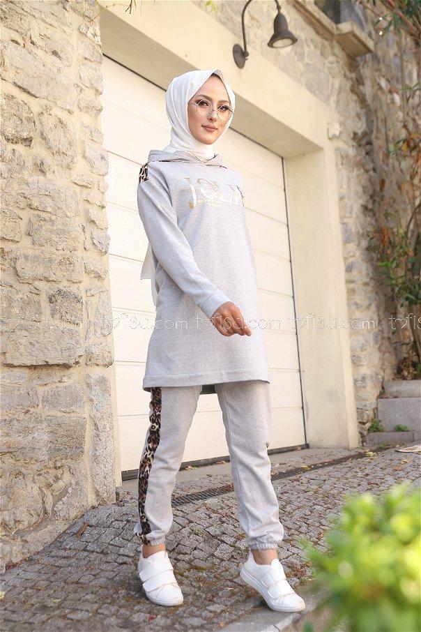 Tunic Pant Grey - 8328
