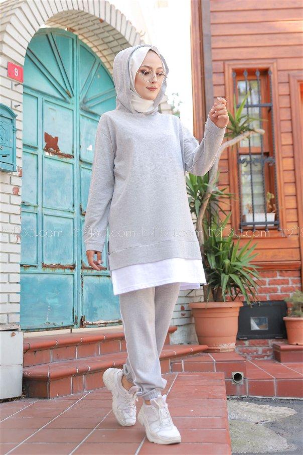Tunic Pant Grey - 8330
