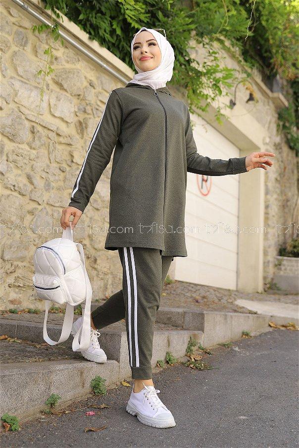 Tunic Pant Khaki - 4126