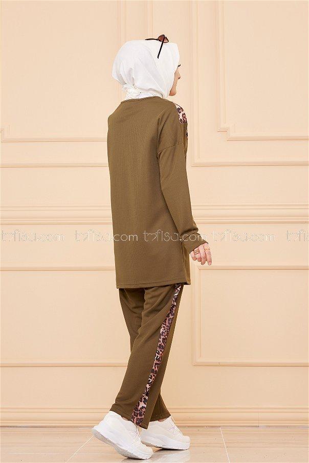 Tunic Pant Leopard Khaki - 02 6997