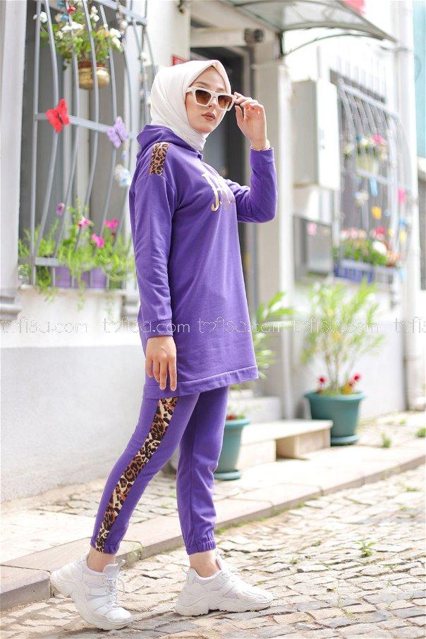 Tunic Pant Light Purple - 8328