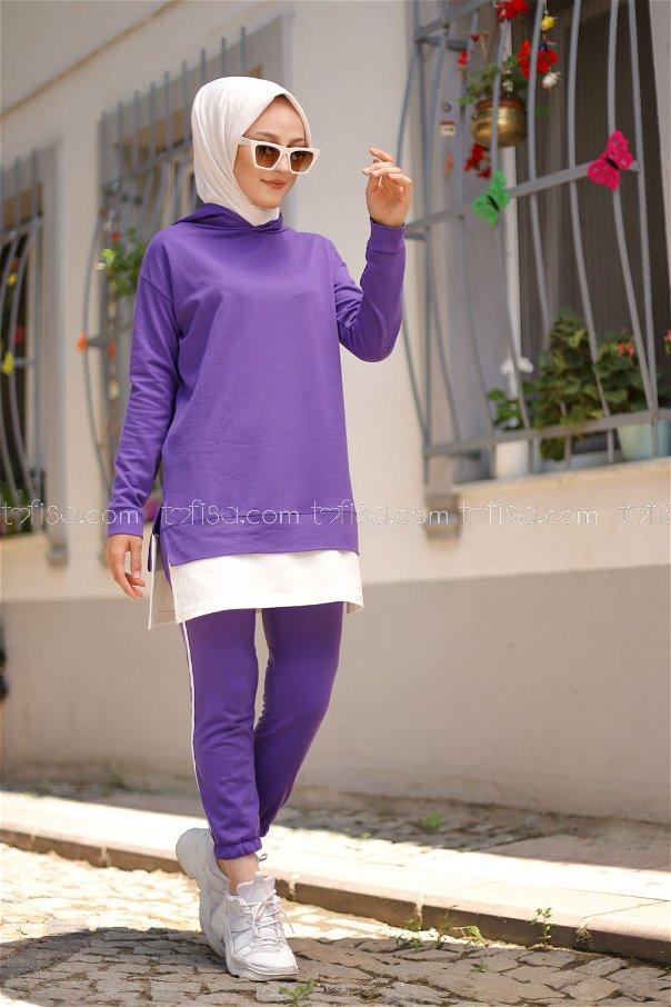 Tunic Pant Light Purple - 8330