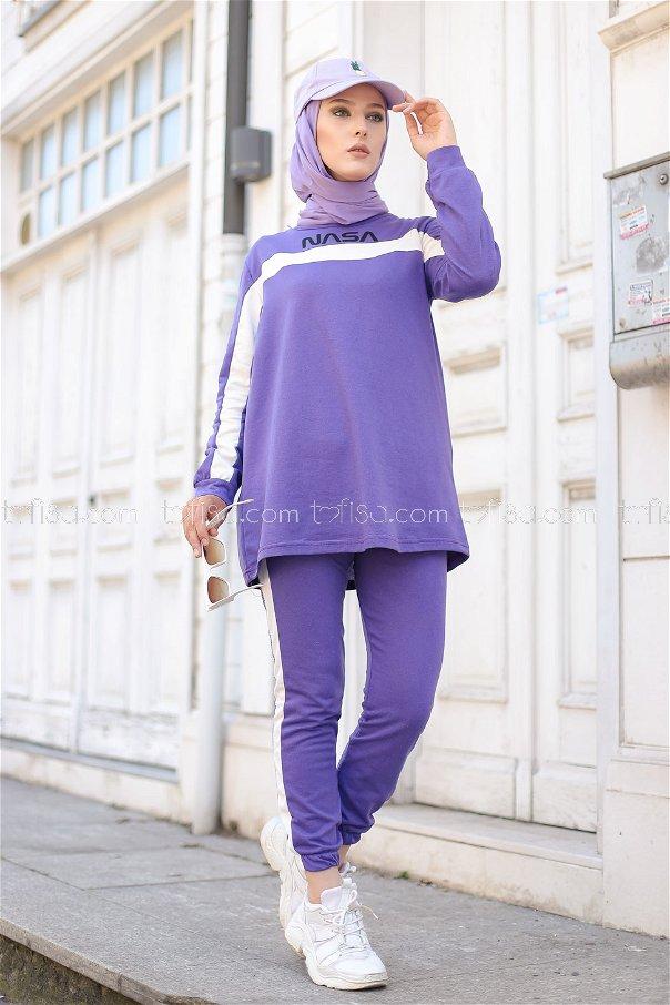 Tunic Pant Light Purple - 8412