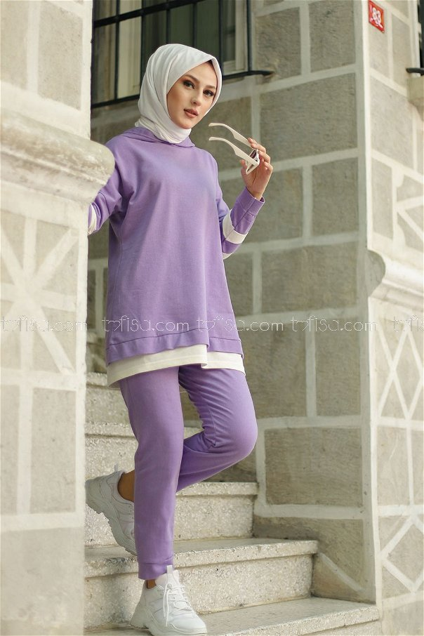 Tunic Pant Lilac - 3024