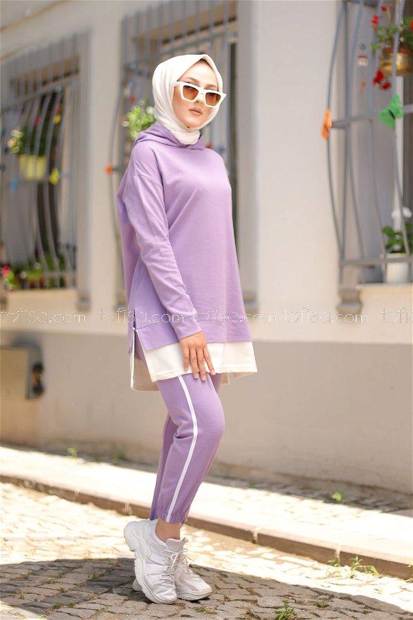 Tunic Pant Lilac - 8330