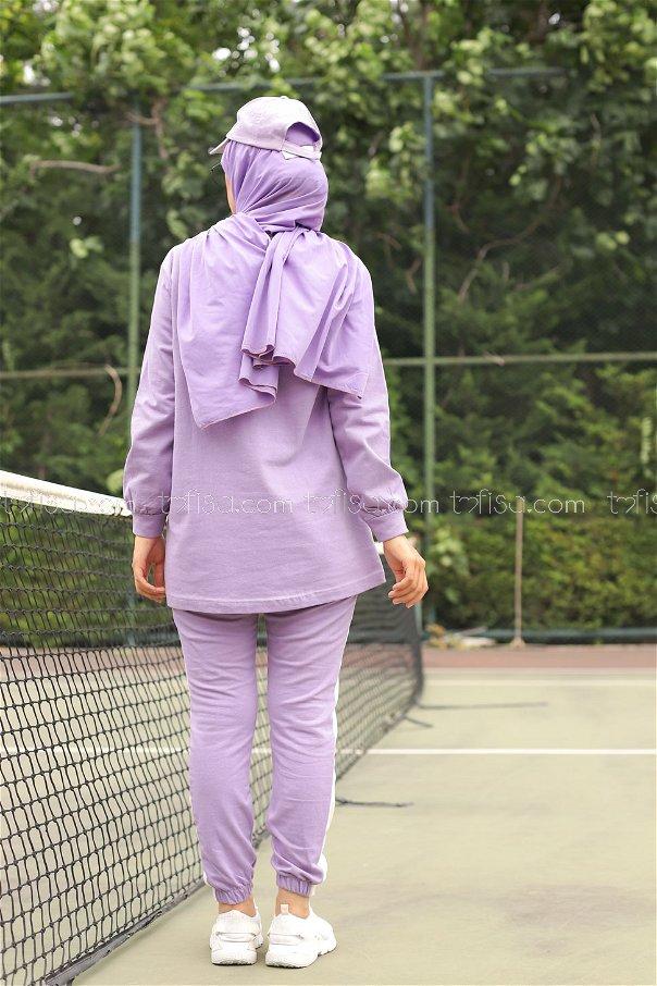 Tunic Pant Lilac - 8412