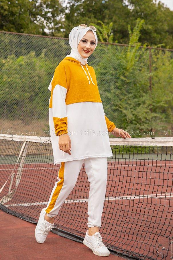 Tunic Pant Mustard - 3261