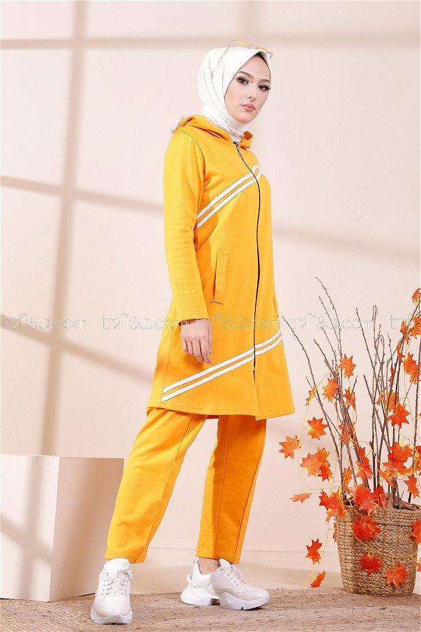 Tunic Pant Mustard - 4117