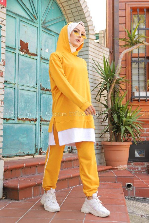 Tunic Pant Mustard - 8330