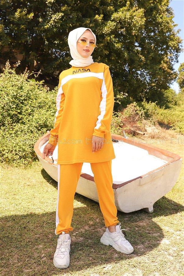 Tunic Pant Mustard - 8412