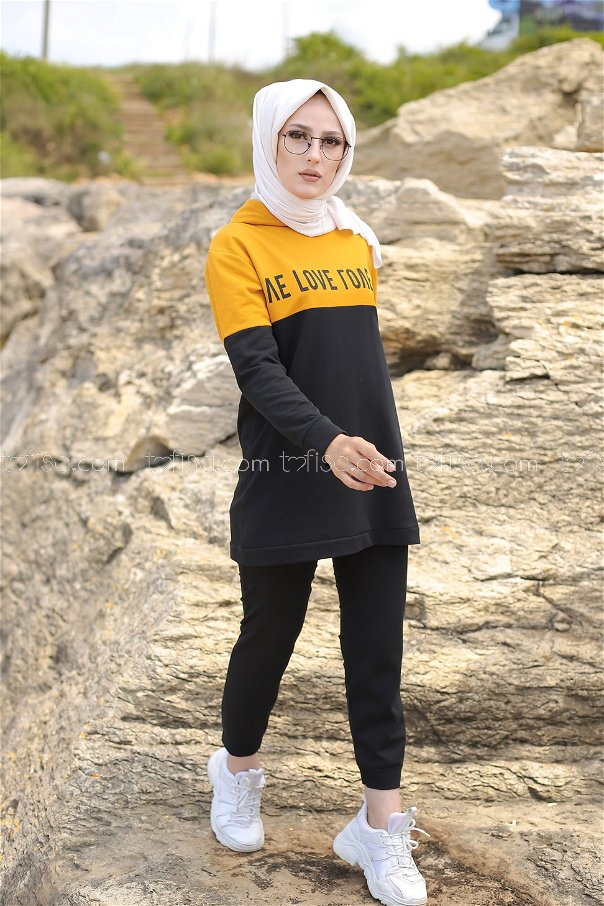 Tunic Pant Mustard - 8548