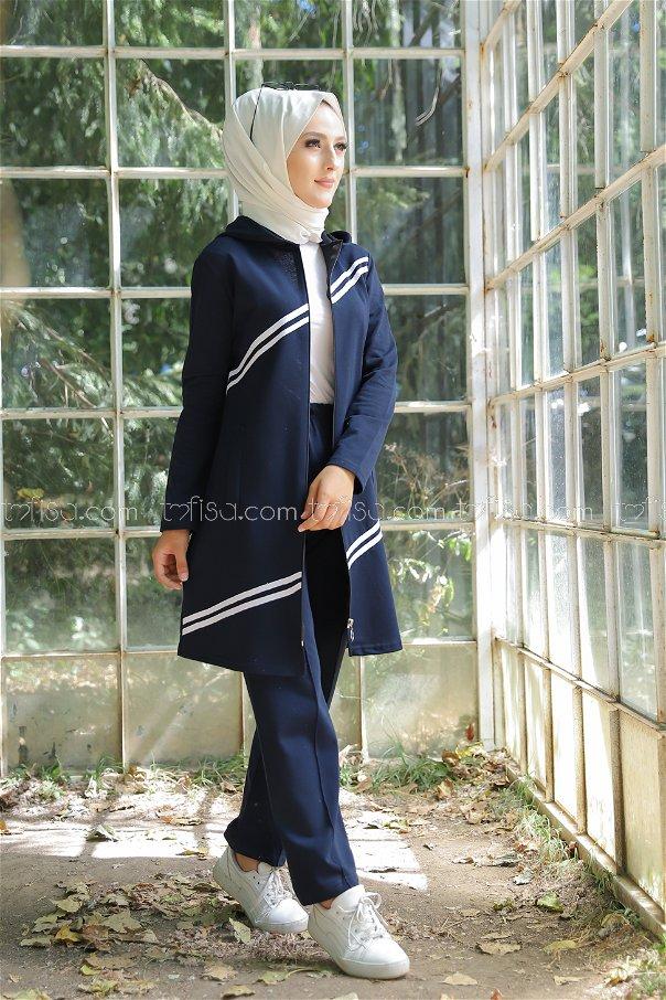 Tunic Pant Navy Blue - 4117