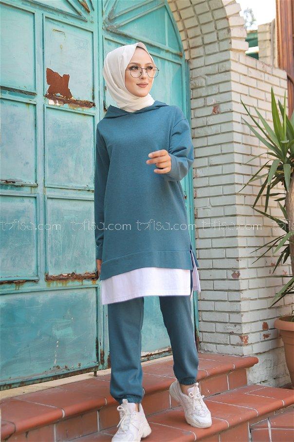Tunic Pant Oil - 8330
