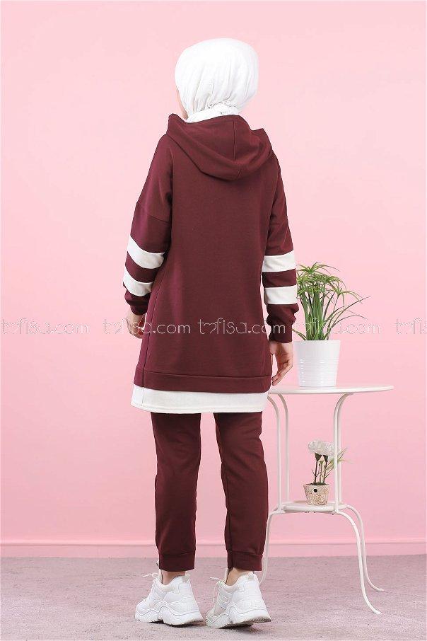 Tunic Pant Purple - 3024