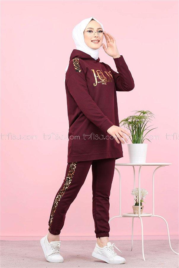 Tunic Pant Purple - 8328