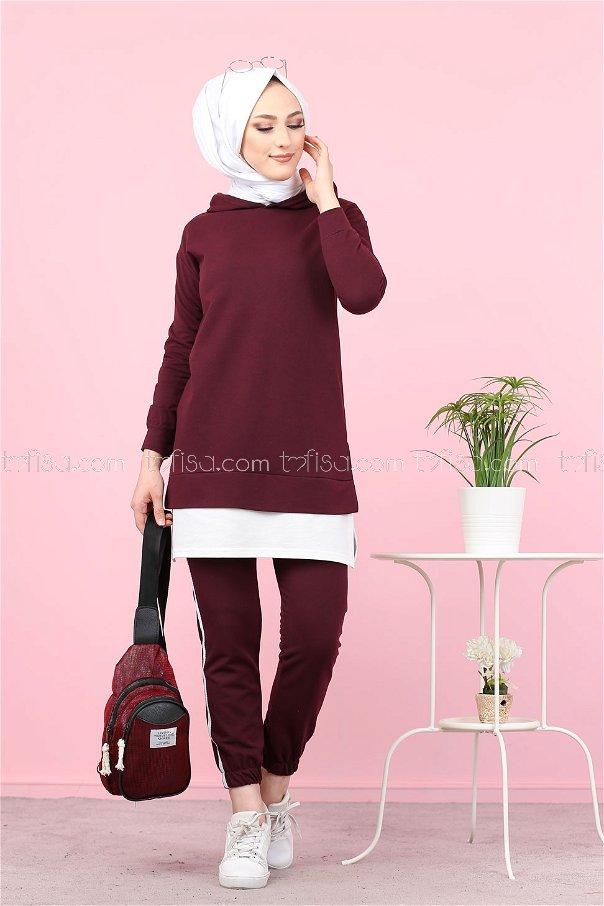 Tunic Pant Purple - 8330