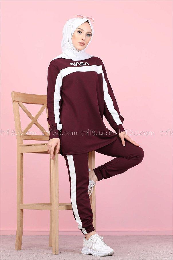 Tunic Pant Purple - 8412
